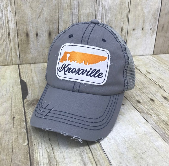 Knoxville Tennessee Skyline State Embroidered Raggy Patch Etsy