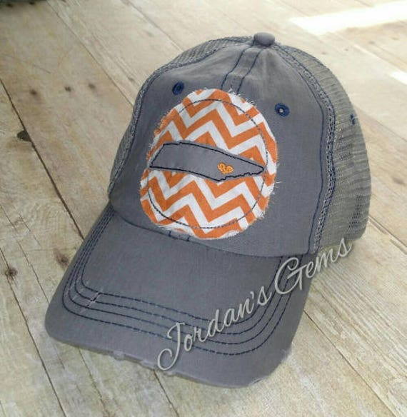 Knoxville Love Tennessee State Home Embroidered Orange And Etsy