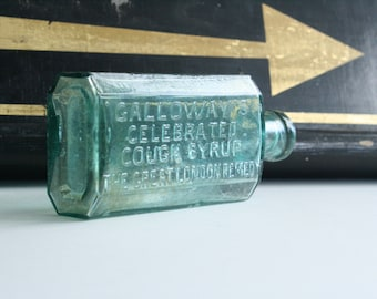 Antique Bottle London Cough Syrup Fantastic bottle