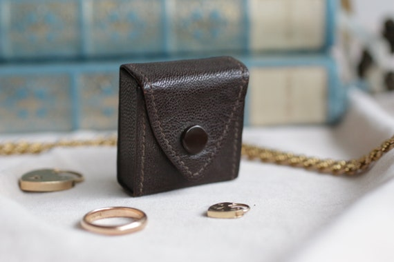 Vintage Ring Box Rare Envelope Shaped Box
