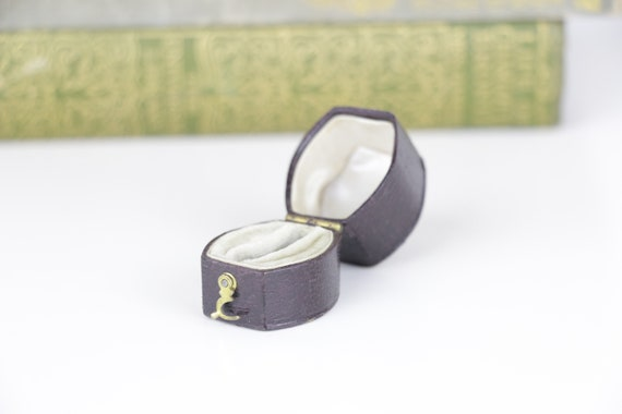 Victorian Antique Ring Box Engagement or Wedding R