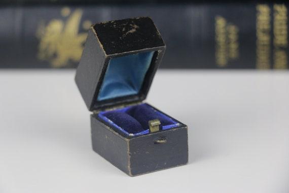 Antique Ring Box Engagement or Wedding Ring Box Vi