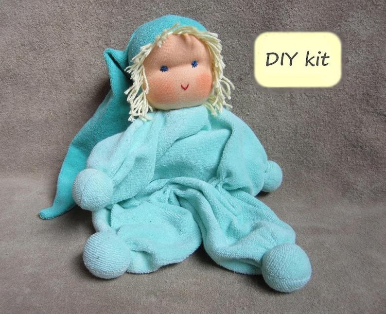 1a10b322363 DIY kit Waldorf doll 'Jippie'. Cuddle doll 29 cm | Etsy
