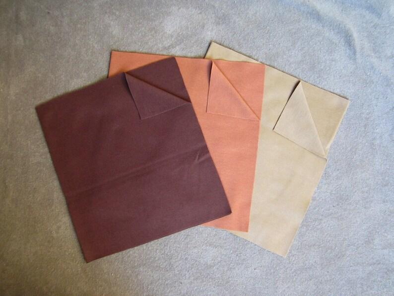 e5005a6534e 3 pieces jersey skin fabric interlock knit for Waldorf | Etsy