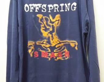Free Shipping!!! RaRE!!! - OFFSPRING SMASH Long Sleeve Hard To Find