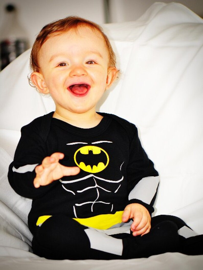 Baby Batman Batbaby The Classic Caped Crusader's Costume image 0