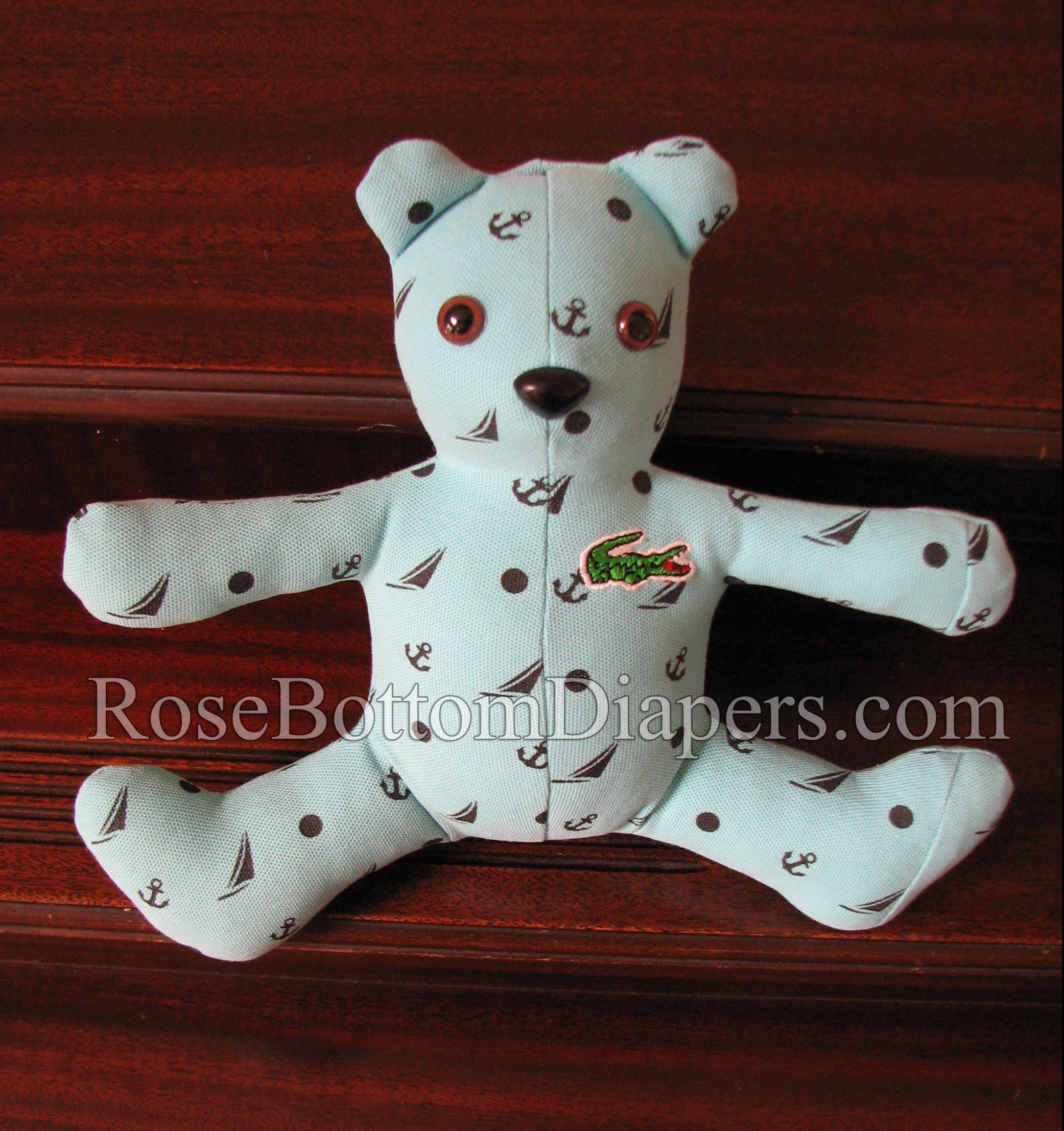 14 memory bear made out of pajamas adult clothing  b2e635f50