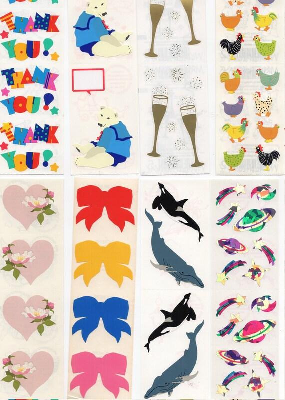 Mrs Grossman ARCTIC AROUND THE WORLD XLG Sticker Sheet/'