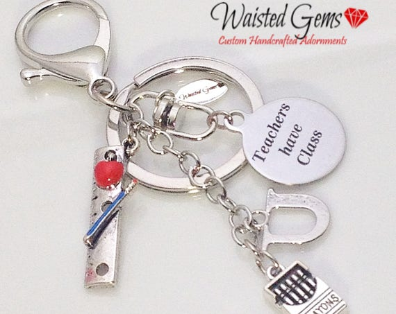Teachers Have Class Custom Key Chain, Teachers Gifts, Back to School, Students, Custom Key Chains, Teaches, zmw9902