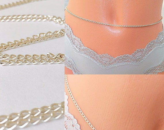 Waist Chain, Belly Chain, Body Beads, Bikini, African Waist Beads, Boho Jewelry, waist beads zmw4434.3
