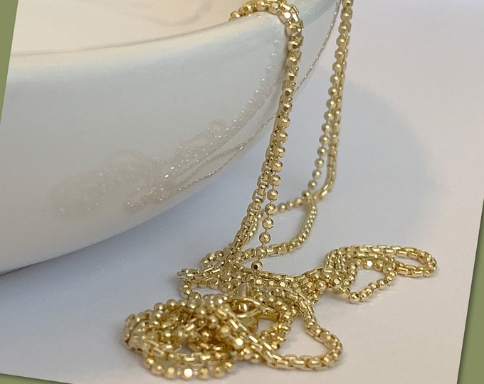 14k Gold Filled Double Strand Waist Chain, 14k Gold Waist Chain, Back Chain, 14k Belly Chain, Waist Chain for Women, Plus Size Waist Chain