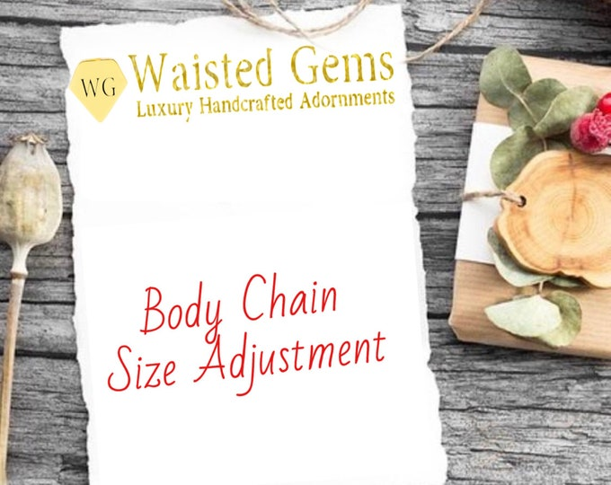 Body Chain Size Adjustment
