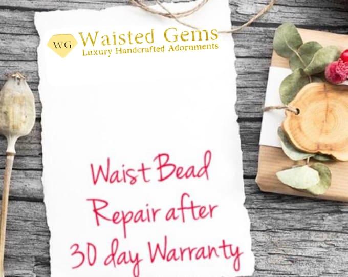 Waist Beads Repairs. belly chain, Summer jewelry, Summer party, Waistbeads, Body jewelry