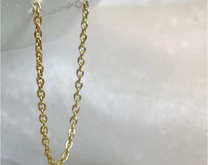 14k Diamond Cut 1.3mm Cable Waist Chain,14k Gold Belly Chain, Plus Size Waist Chain, Waisted Gems,Body Chain,Christmas, Minimal Waist Chain