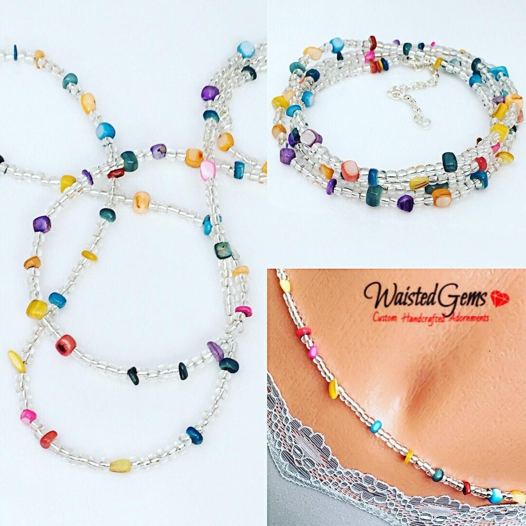 Bikini made of beads