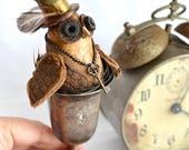 Owl Collector gift, Retro...