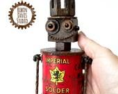 Steampunk Robot, Found Ob...