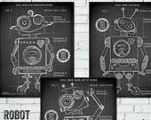 Robot Blueprints, Robot P...