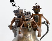 Miniature Robot, Tiny Ret...