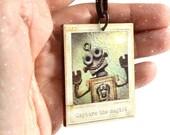 Tiny Polaroid Ornament, W...