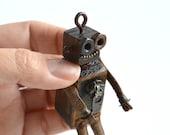 Small Wooden Robot, Cute ...