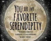 Serendipity Quote, Serendipity Printable, Wedding favor svg, Wedding Gift printable, Wedding Sign download, Wedding guests, RobinDavisStudio