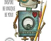 Robot Classroom Printable...