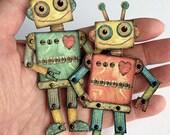 Mini Robot DIY, Paper Cra...