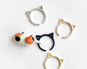 I'm all ears adjustable cat ring