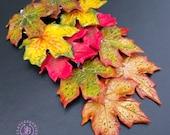 Autumn leaf earrings, Fall earrings,Maple leaf earrings,Leaf Shaped Earrings, Dangle leaf earrings, Autumn jewelry,Nature inspired earrings