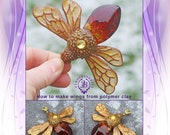 Polymer Clay PDF Tutorial How to make wings from polymer clay