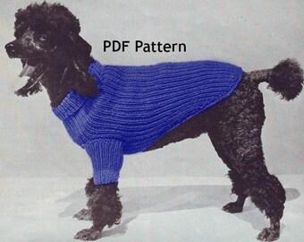 Dachshund Small Dog Sweater Coat Pet Puppy Vintage 1971 Etsy