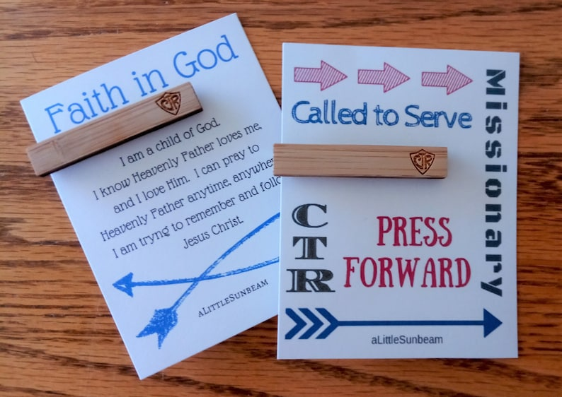 1507515c551f17 CTR Wooden Tiebar baptism gift missionary young men lds the