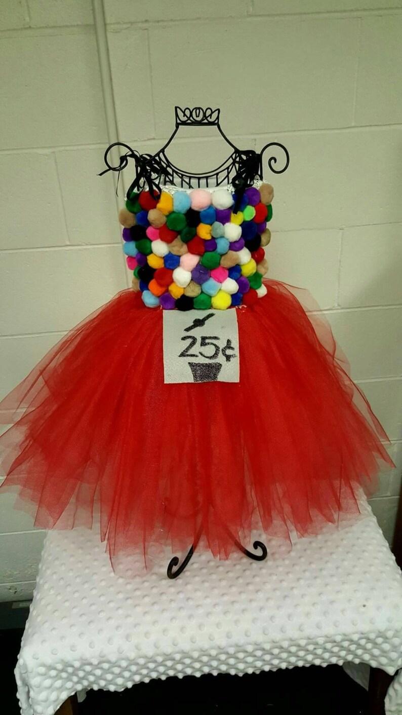 Bubble Gum Machine Tutu Costume Etsy