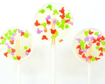 Mickey candy lollipops. Lollipops. Mickey treats. Mickey pops. Candy lollipops. Birthday lollipops. mickey favors. mickey desserts. mickey