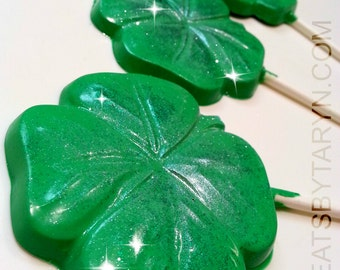 Shamrock Lollipops