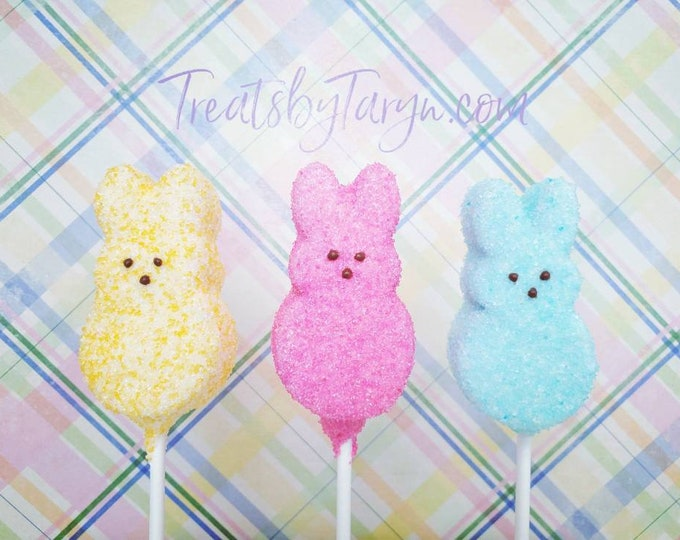 Featured listing image: Easter Bunny Cake Pops