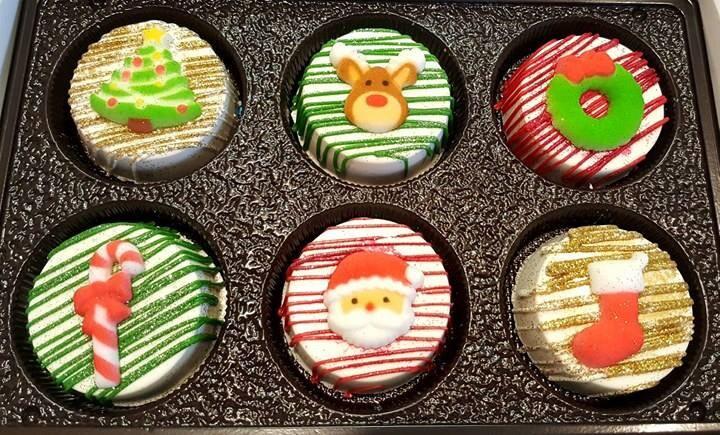 Christmas Chocolate Covered Oreo Gift Set Christmas Oreos Christmas