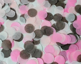 "Hand-Cut 1"" 1500 Tissue Confetti /Gender Reveal/ Wedding tossing/ Birthday Party/Balloon Filler"