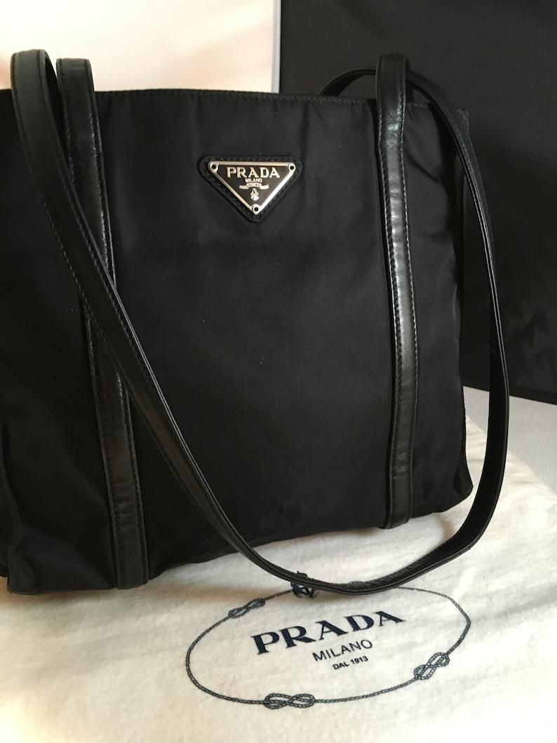 Black Nylon Leather Detail