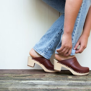 women's wooden clogs for sale