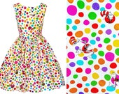 Dr Seuss Fabric Dress - Cat In The Hat - Handmade To Order  See full details and 2nd picture Book Dress