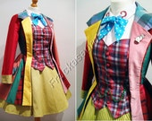 Sixth Doctor Who Femme Costume - Hand Made To Order - Please message me before ordering.