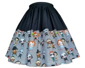 Horror Skirt Cute Movie Characters - Handmade To Order- Kawaii Chucky, Hannibal Lecter, It, Pinhead, Freddy Kruger, Ghostface etc