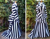 Beetlejuice Costume Steam Punk -  Cosplay Betelgeuse - Hand Made To Order