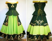 Legend Of Zelda Inspired Cosplay Dress 'Links Daughter' - Custom Made To Order