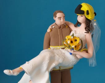 Personalised Couple Wedding Cake Topper