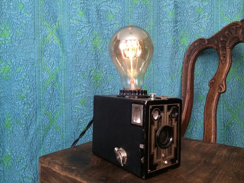 Kodak Brownie Camera Lamp image 0