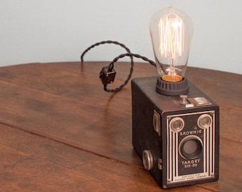 Brownie Box Camera Lamp