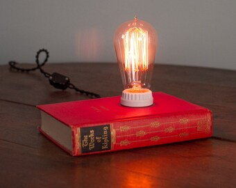 Antique Book Lamp - The Works